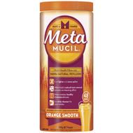3 PACK OF Metamucil Daily Fibre Supplement Smooth Orange 283g