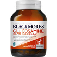3 PACK OF Blackmores Glucosamine Sulfate 1500mg Tablets 60 pack