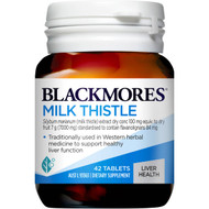 3 PACK OF Blackmores Milk Thistle Liver Tonic Tablets 42 pack