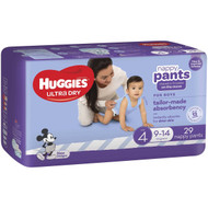3 PACK OF Huggies Nappy Pants Toddler Boy 29 pack