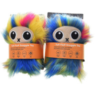 3 PACK OF Rufus & Coco Tuff Fluff Snuggle Toy