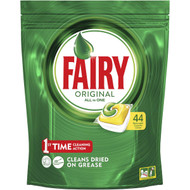 3 PACK OF Fairy Dishwasher Tablets All In One Lemon 44 capsules