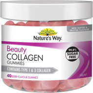 3 PACK OF Nature's Way Beauty Collagen Gummies 40 pack