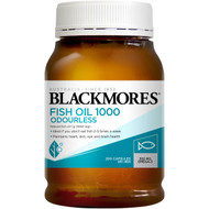 3 PACK OF Blackmores Fish Oil Odourless 1000mg 200 pack