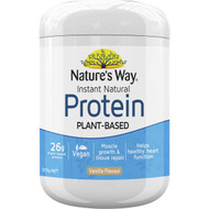 3 PACK OF Nature's Way Protein Powder Vanilla 375g