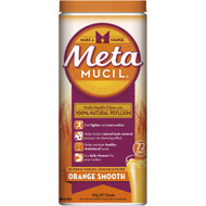 3 PACK OF Metamucil Orange Smooth Fibre 72 Doses 425g