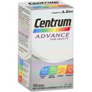 3 PACK OF Centrum Advance Multivitamin 120pk