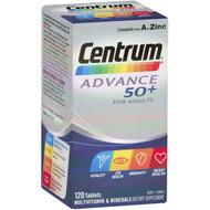 3 PACK OF Centrum Advance 50+ Multivitamin 120pk