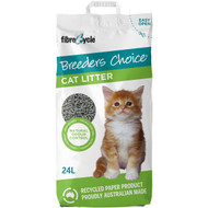 3 PACK OF Breeders Choice Paper Cat Litter 24l