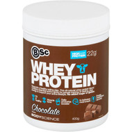 3 PACK OF Body Science Whey Protein Chocolate 400g