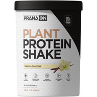 3 PACK OF Prana On Plant Protein Shake Vanilla Flavour 405g