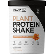 3 PACK OF Prana On Plant Protein Shake Salted Caramel Flavour 405g