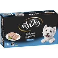 My Dog Chicken Supreme Meaty Loaf Wet Dog Food 24 pack