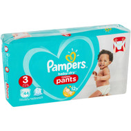 Pampers Baby-dry Nappy Pants Size3 44 pack