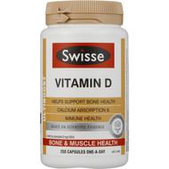 Swisse Ultiboost Vitamin D Caps 250 pack