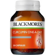 3 PACK OF Blackmores Curcumin One A Day 30pk