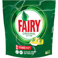3 PACK OF Fairy Dishwasher Tablets All In One Lemon 67 capsules