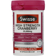 Swisse Ultiboost High Strength Cranberry Capsules 30 pack