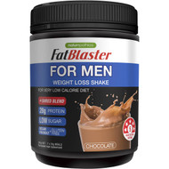 3 PACK OF Naturopathica Fat Blaster For Men Weight Loss Shake Chocolate 385g