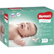 Huggies Jumbo Infant Nappies Nappies 96 pack