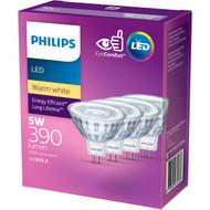 Philips Led Mr16 Warm 4 pack