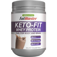 3 PACK OF Fat Blaster Keto Fit Whey Chocolate 300g