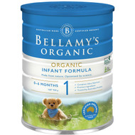 3 PACK OF Bellamy's Organic Infant Baby Formula Stage 1 From Birth To 6 Mo 900g