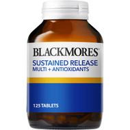 3 PACK OF Blackmores Multivitamin & Antioxidant Tablets 125pk