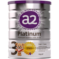 3 PACK OF A2 Platinum Toddler Formula Stage 3 1-3yrs 900g