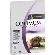 3 PACK OF Optimum Puppy With Chicken Dry Dog Food 7kg