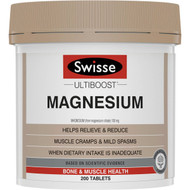 3 PACK OF Swisse Ultiboost Magnesium 200pk