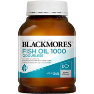 Blackmores Odourless Fish Oil 1000mg 400 pack