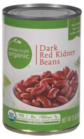 Simple Truth Organic Dark Red Kidney Beans - 15 oz
