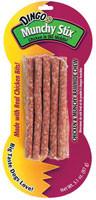 3 Pack of Dingo Munchy Stix Dog Treats Chicken - 10 Pieces