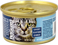 3 Pack of PetGuard Canned Cat Food Savory Seafood Dinner - 3 oz