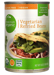 Simple Truth Organic Vegetarian Refried Beans - 16 oz