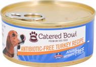 3 Pack of Catered Bowl Always Antibiotic Free Premium Dog Food Turkey Recipe - 5.5 oz
