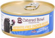 3 Pack of Catered Bowl Always Antibiotic Free Premium Dog Food Chicken Recipe - 5.5 oz