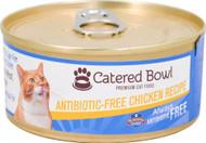 3 Pack of Catered Bowl Always Antibiotic Free Premium Cat Food Chicken Recipe - 5.5 oz