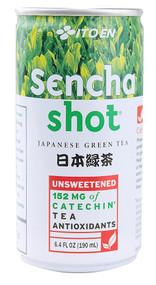 Ito En Teas, Sencha Shot Japanese Green Tea - 6.4 fl oz -5 PACK