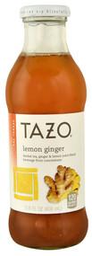 Tazo, Iced Tea,  Lemon Ginger, - 13.8 fl oz -5 PACK