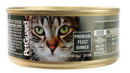 PetGuard, Canned Cat Food,  Premium Feast Dinner - 5.5 oz -5 PACK