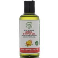 Petal Fresh, Pure, Softening Bath & Shower Gel, Rose & Honeysuckle, 3 fl oz (90 ml)