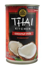 3 PACK of Thai Kitchen Coconut Milk Unsweetened -- 5.46 fl oz