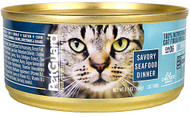 3 Pack of PetGuard Canned Cat Food Savory Seafood Dinner - 5.5 oz
