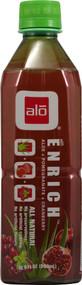 3 PACK of ALO Enrich Aloe Vera Pomegranate Cranberry -- 16.9 fl oz