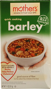 Mothers, Quick Cooking Barley - 11 oz -5 PACK