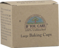 3 PACK of If You Care Large Baking Cups -- 60 Cups