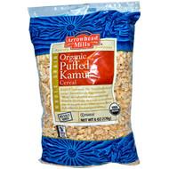 Arrowhead Mills, Organic Puffed Kamut Cereal, 6 oz (170 g) - 5 PACK