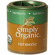 Simply Organic, Turmeric - 0.53 oz -5 PACK